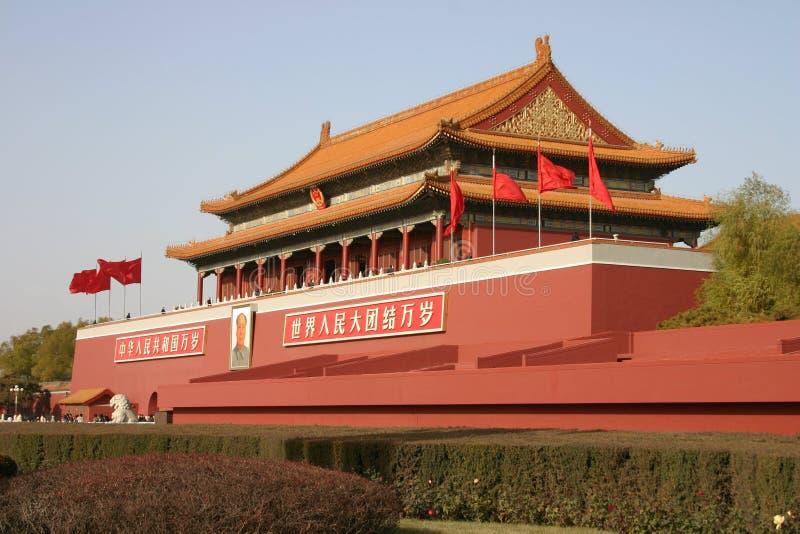 запрещенный дворец стоковое изображение