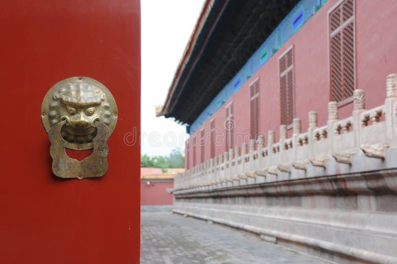 запрещенный дворец стоковые изображения rf