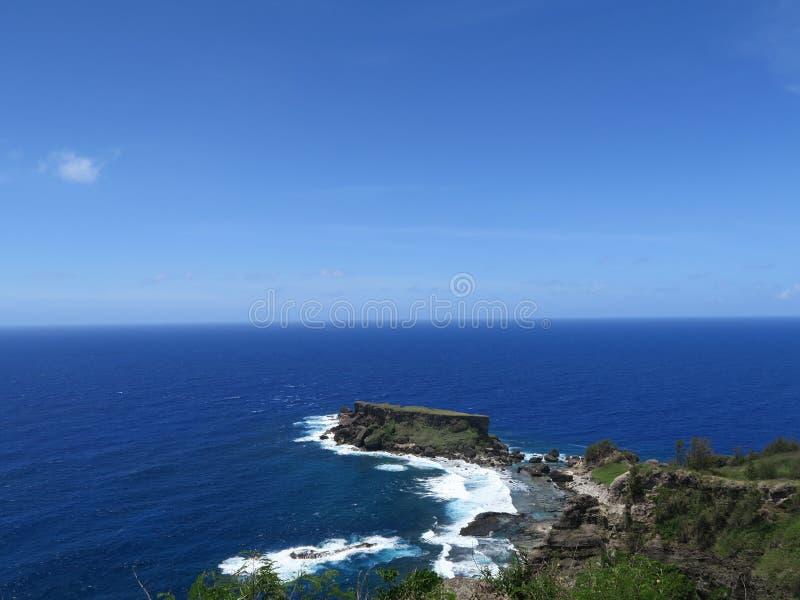 Запрещенный остров стоковые изображения rf