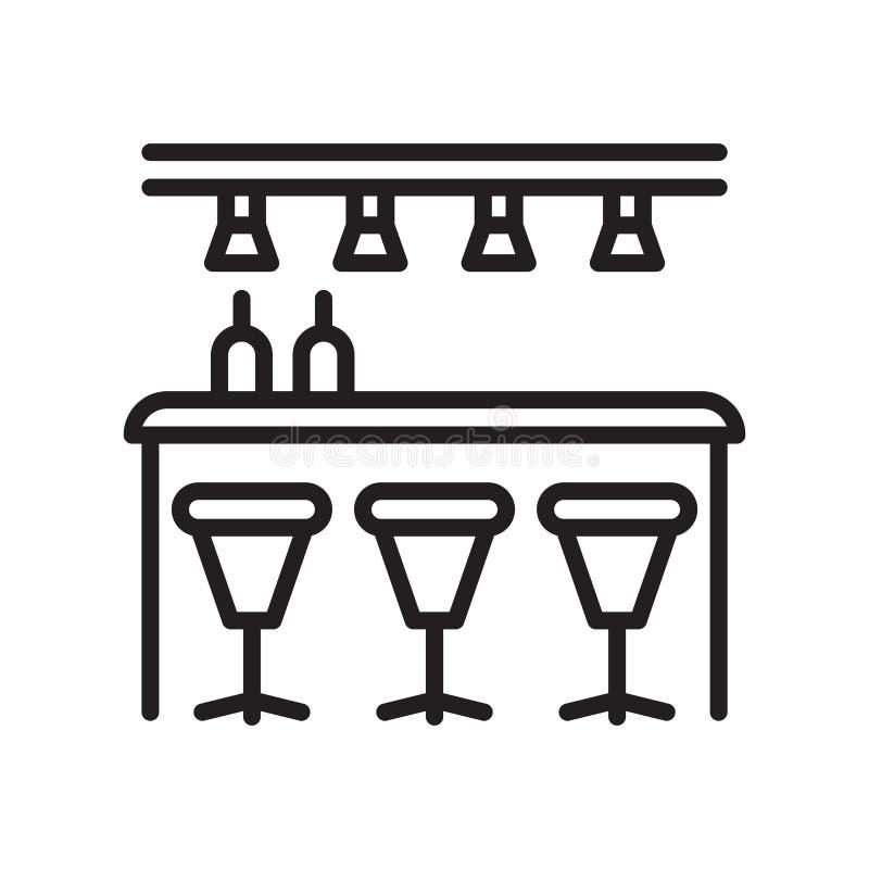 Заприте вектор значка изолированный на белой предпосылке, знаке бара, линии или бесплатная иллюстрация