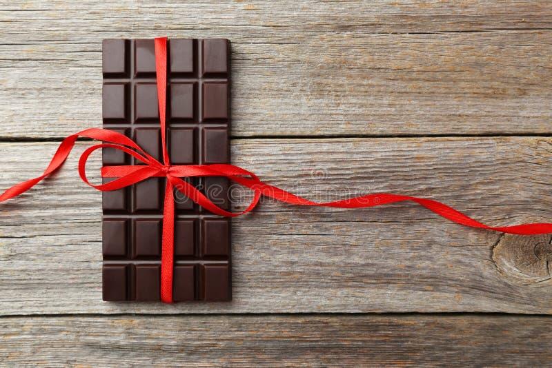 заприте темноту шоколада стоковое изображение rf