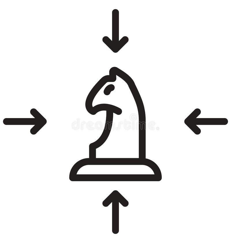 Запроектируйте линию изолированный значок плана вектора смогите легко быть доработано и редактировать иллюстрация штока