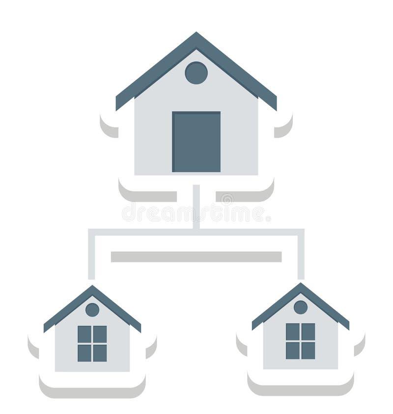 Запроектируйте план, построители изолированные значки вектора смогите быть доработайте с любым стилем бесплатная иллюстрация