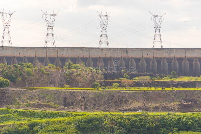 Запруда ГЭС 04 Itaipu стоковое изображение rf