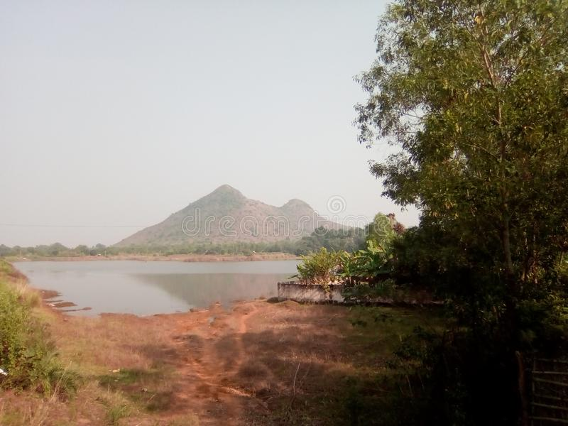 Запруда brahmani Debi стоковые фото