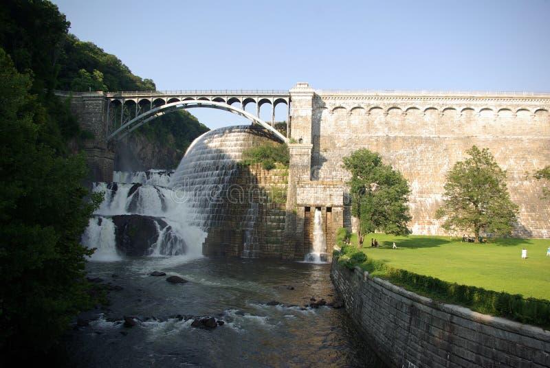 запруда croton моста стоковые фото