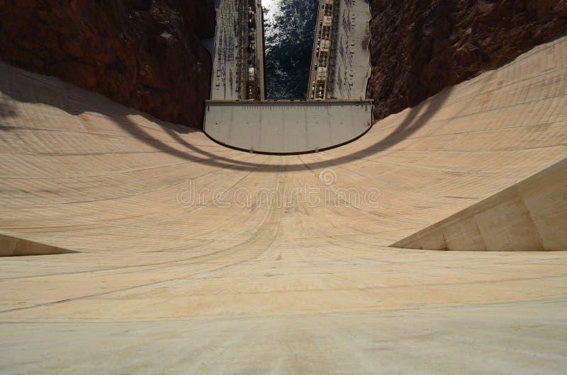Запруда Hoover, пол, древесина, настил, стена стоковые изображения
