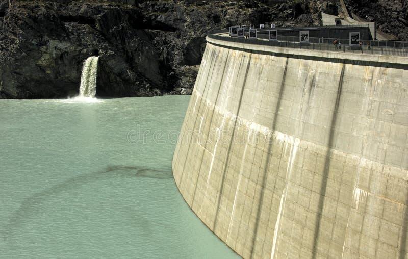 запрудите воду стоковое изображение rf