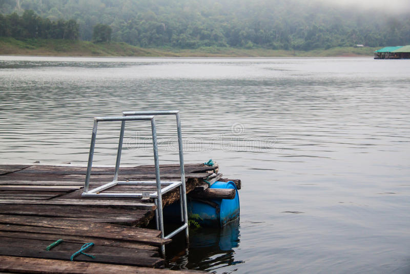 Запруда и резервуар Mae Ngad в районе Mae Taeng, Чиангмае Tha стоковые фотографии rf