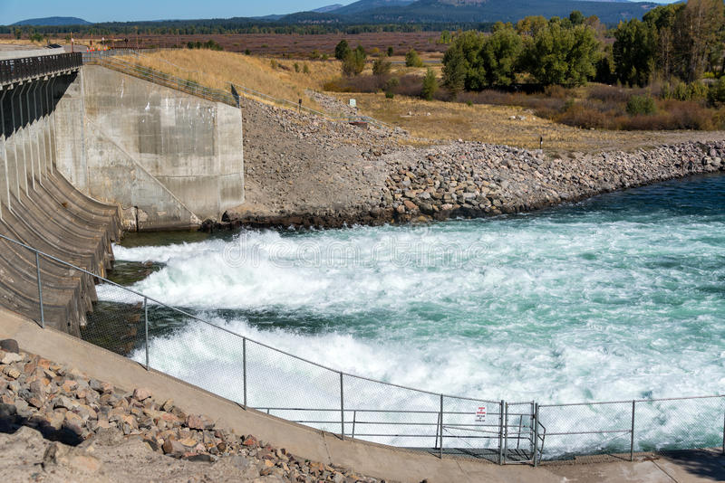 Запруда озера Джексон стоковые фото