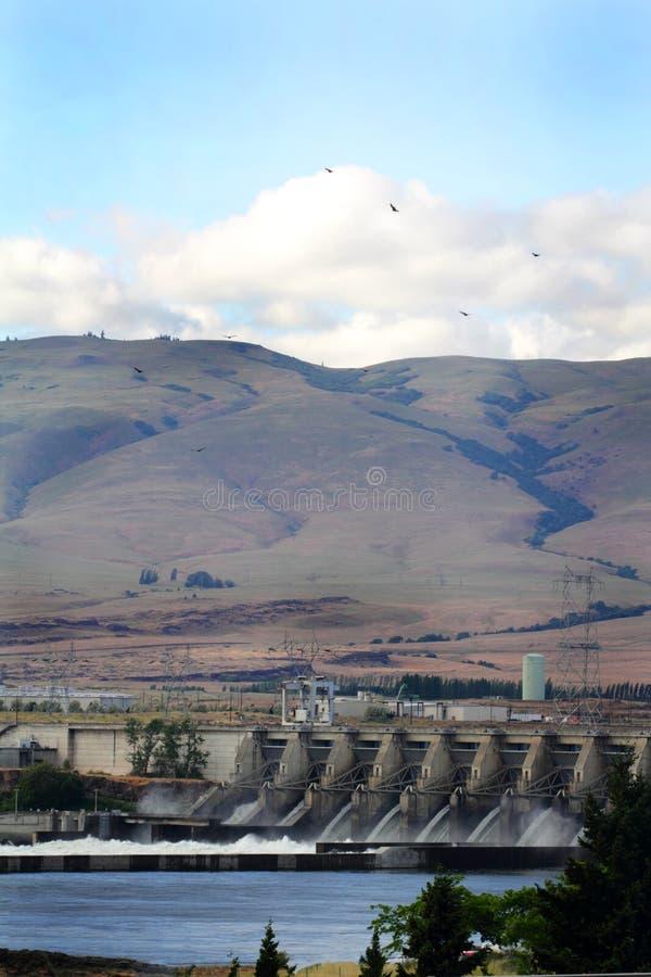 Запруда Dalles стоковые изображения rf