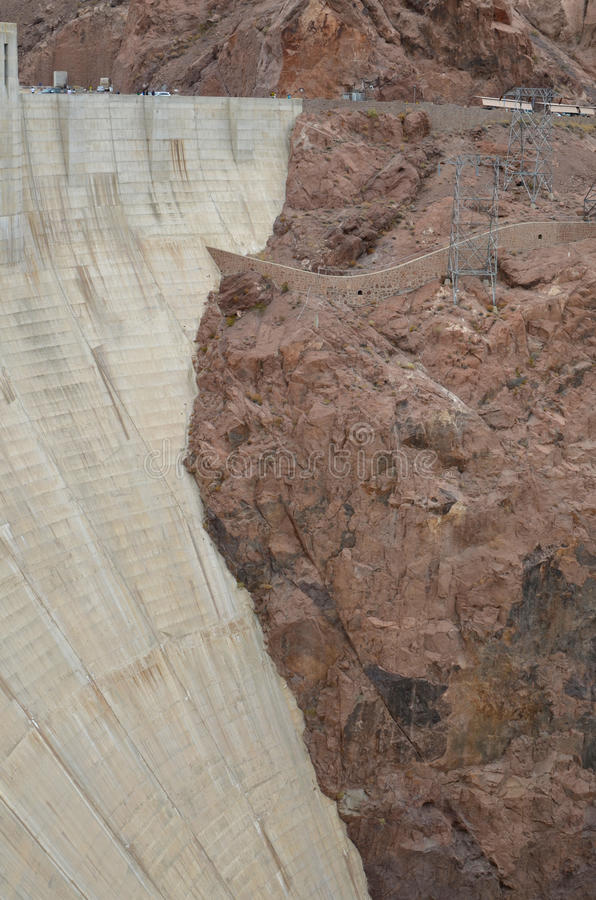 Запруда Hoover стоковая фотография