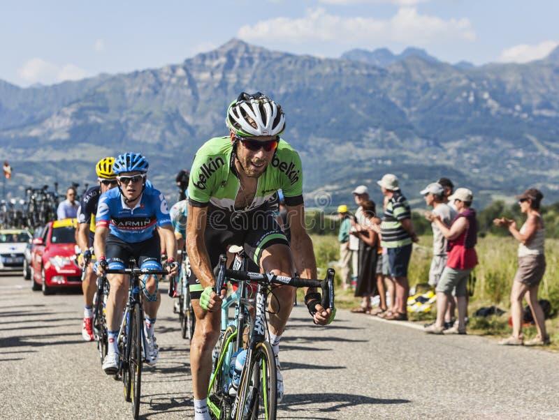 Запруда Laurens 10 велосипедиста стоковая фотография rf