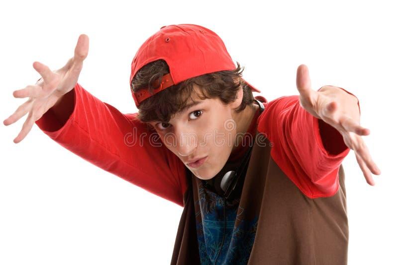запугивать мальчика подростковый стоковое изображение rf