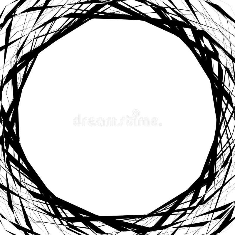 Download Запутанные геометрические линии резюмируют геометрическую предпосылку, острословие рамки Иллюстрация вектора - иллюстрации насчитывающей бесцветно, рамка: 81806917
