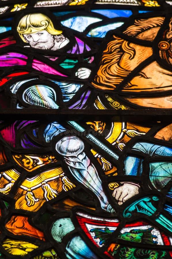 запятнанное стекло стоковое изображение
