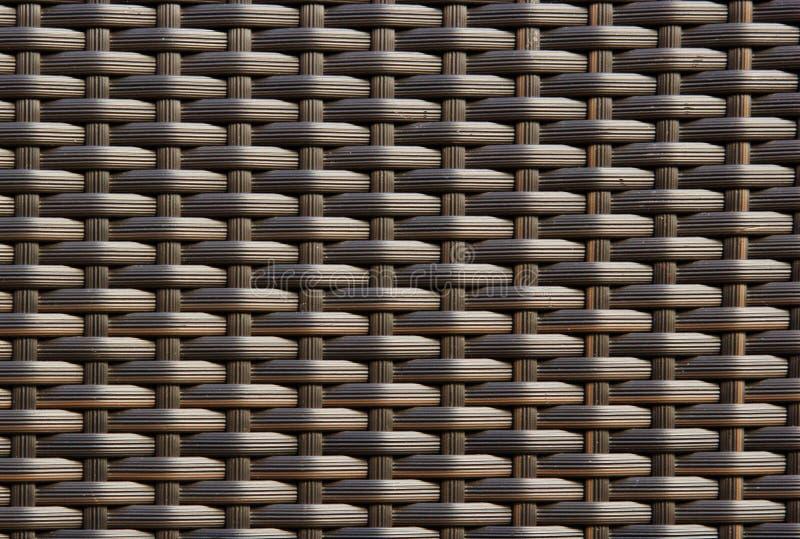 Заплетенная плетеная текстура стоковые фото