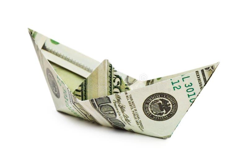 заработано деньги грузить стоковая фотография rf