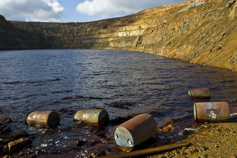 зараженная вода стоковые фото
