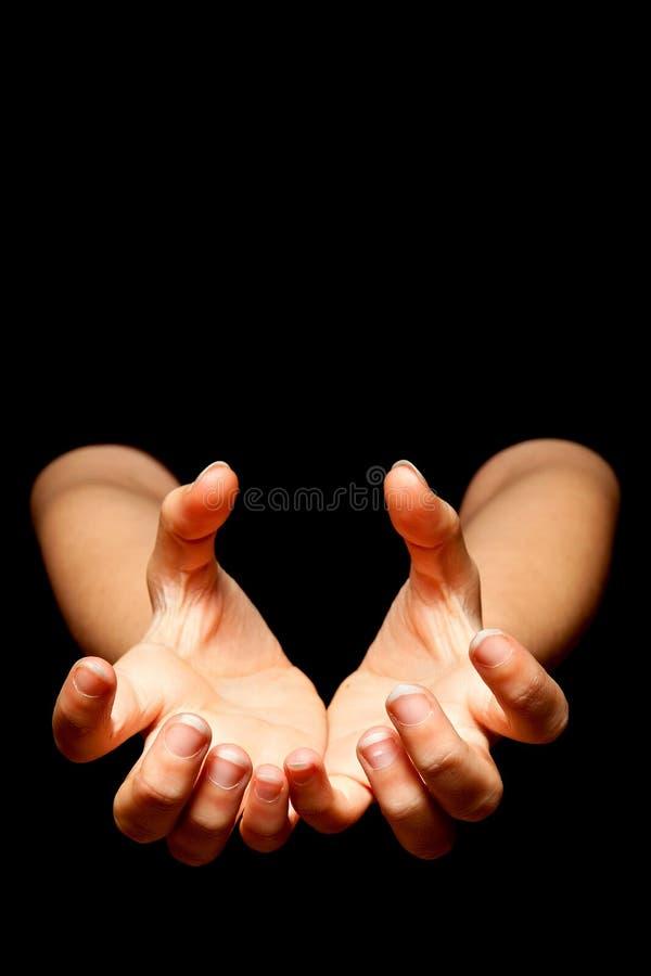 заразительные руки стоковые фотографии rf