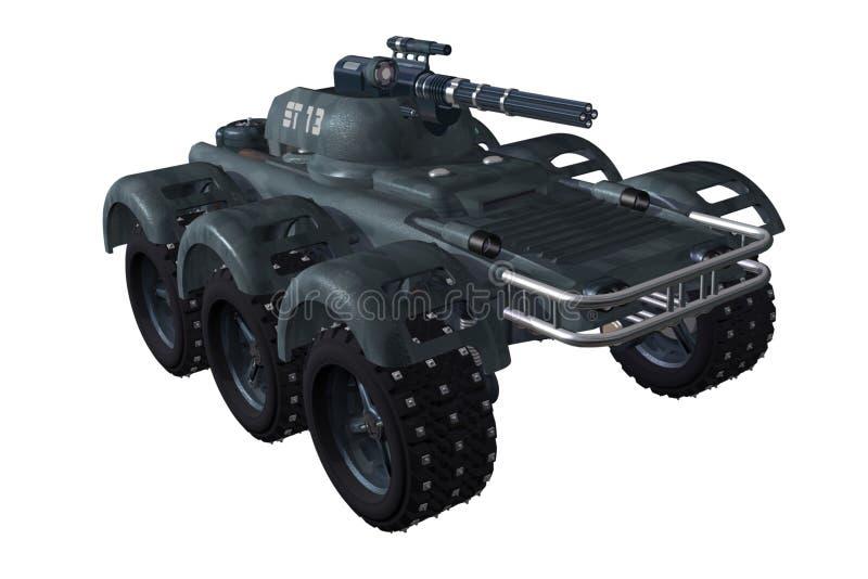 зарезервированный автомобиль стоковое изображение rf