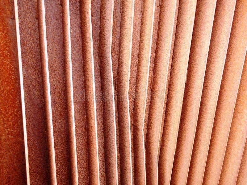 Заржаветые железные ребра 3 стоковая фотография rf