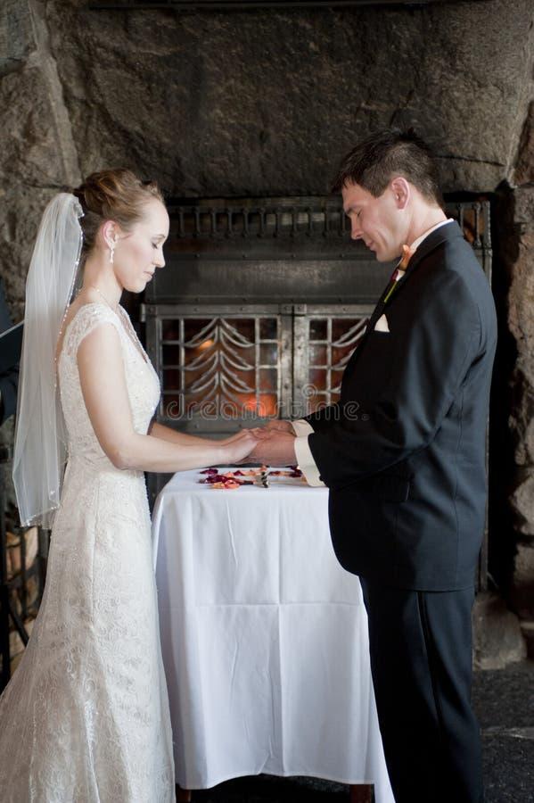 Зароки венчания стоковые фотографии rf