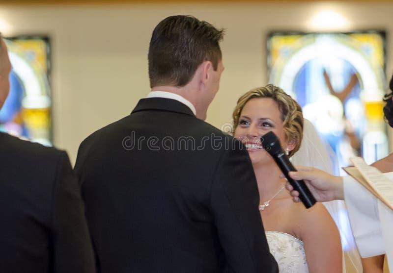 Зароки свадьбы стоковая фотография rf