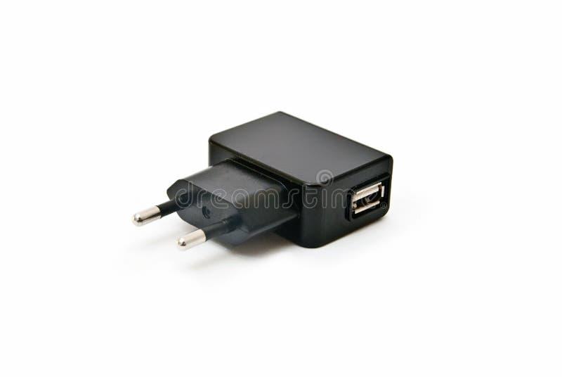 Заряжатель USB стоковое фото rf