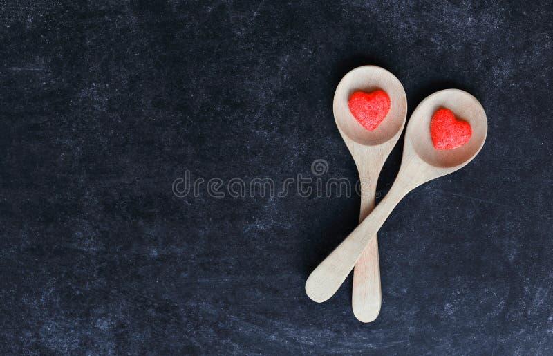 Засахарите сердце стоковые фото