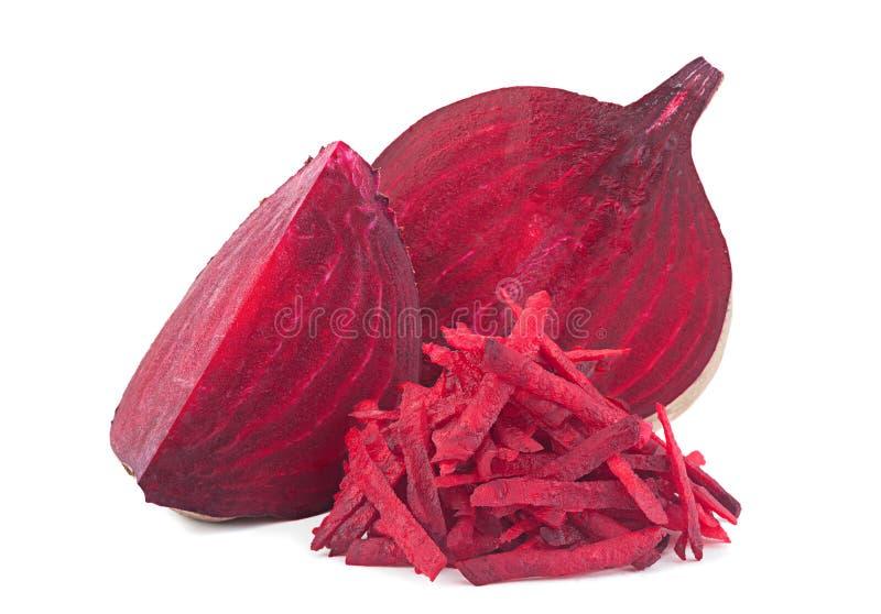 Заскрежетанный овощ свеклы стоковое изображение rf