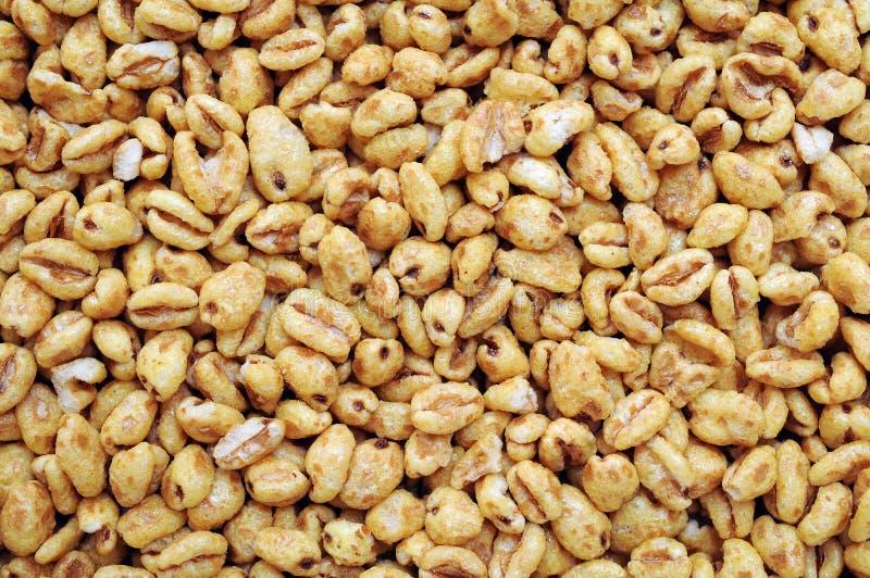 Засопетые хлопья пшеницы стоковые фотографии rf
