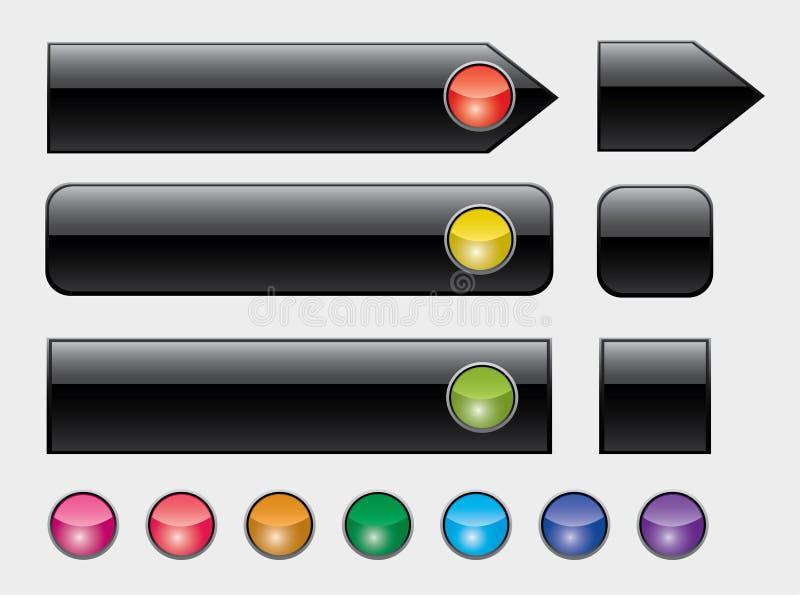 застегивает цветастую сеть светов бесплатная иллюстрация
