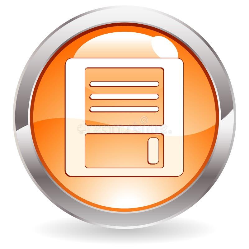застегните лоск флапи-диска диска бесплатная иллюстрация