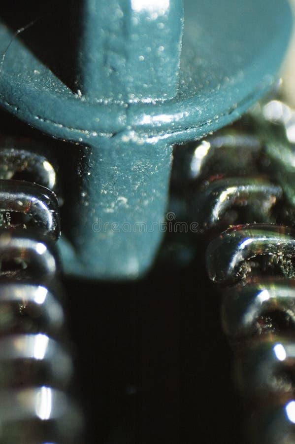 застежка -молния макроса стоковое фото rf