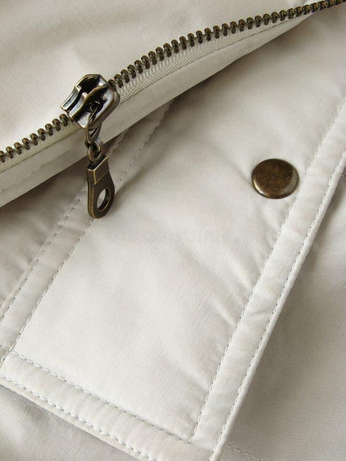 застежка -молния щитка карманная стоковое изображение rf