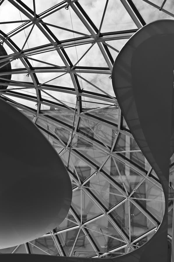 Застекленная сень Стоковая Фотография RF