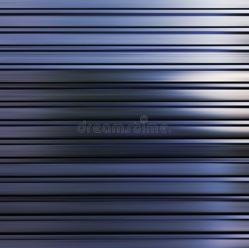 Застекленная текстура металла иллюстрация вектора
