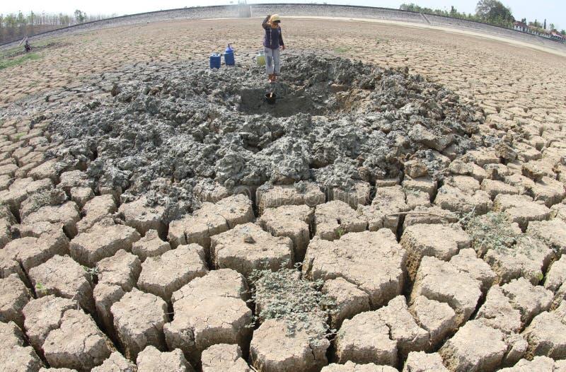 Засуха в Индонезии стоковое фото rf