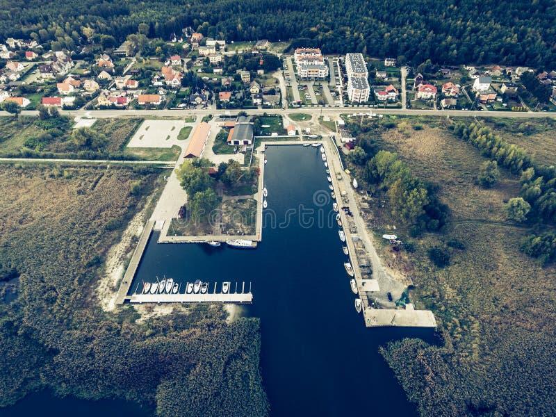 Затаите в KÄ… ty Rybackie, Польше стоковое фото