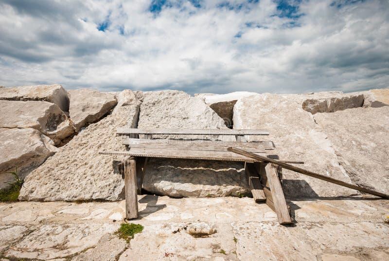 Затаите детали, Fazana, Istria, Хорватию стоковое фото