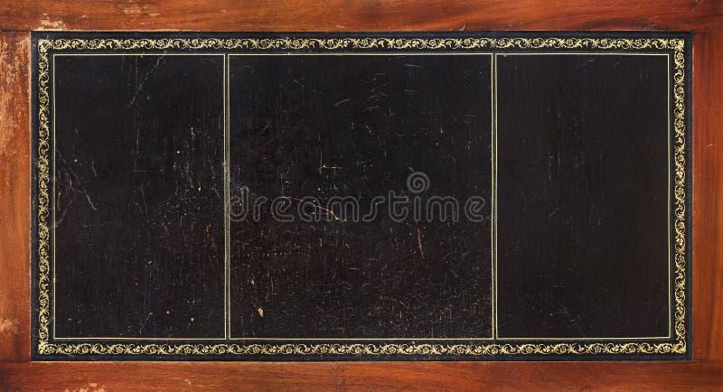 затейливая кожаная текстура tabletop стоковая фотография
