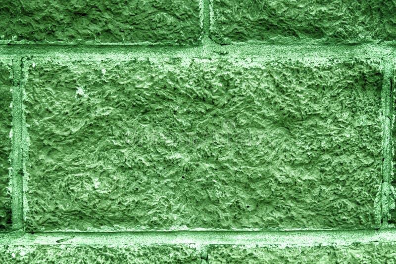 Затеняемая елевая абстрактная предпосылка кирпичной стены плитки Поверхность текстуры каменной стены стоковые фотографии rf