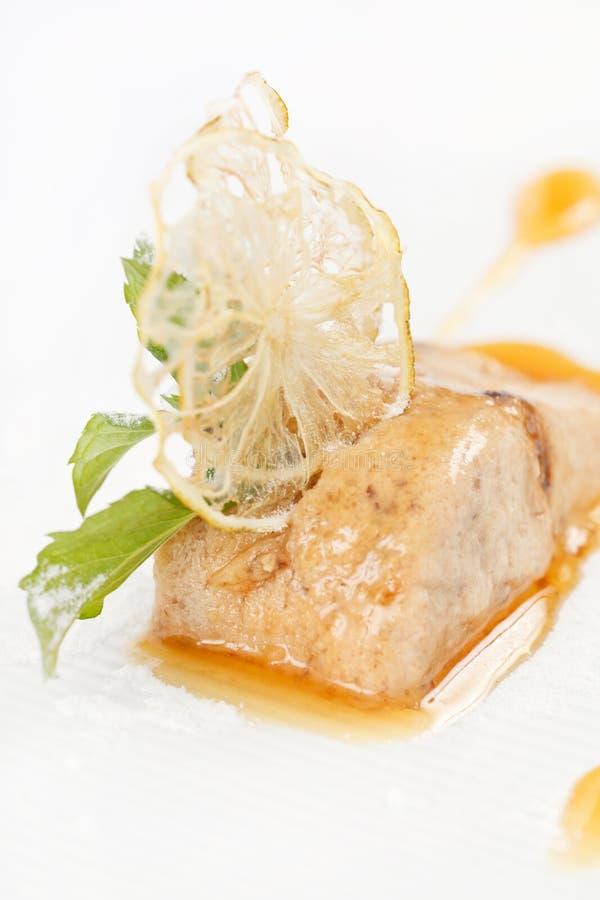 Затир мяса с соусом стоковые изображения rf