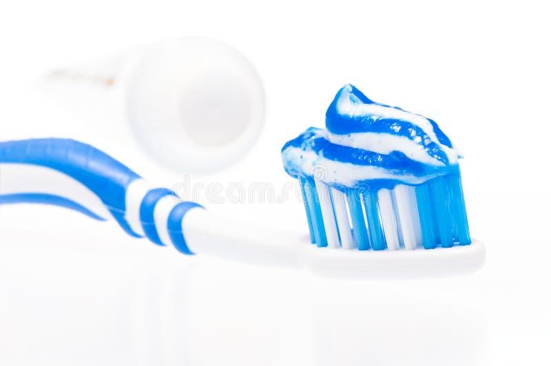 затир щетки зубоврачебный стоковое изображение rf
