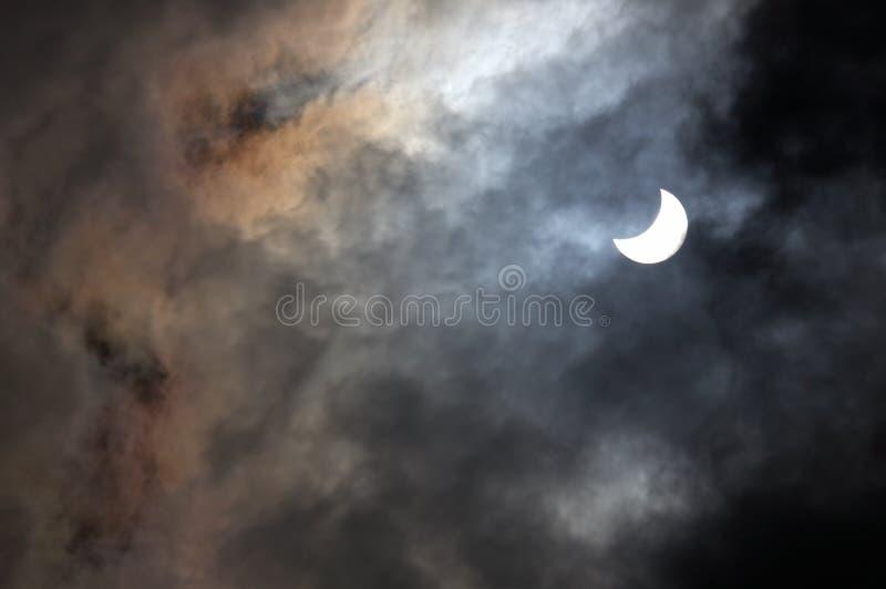 затмение солнечное стоковое изображение rf