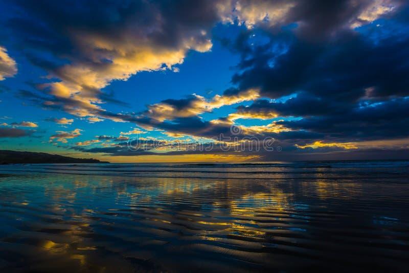Затмленные облака стоковое фото