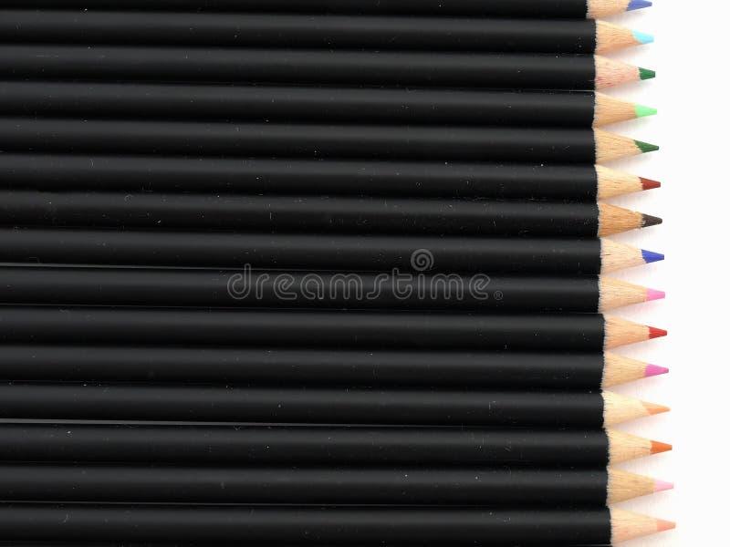 заточенные карандаши стоковая фотография rf