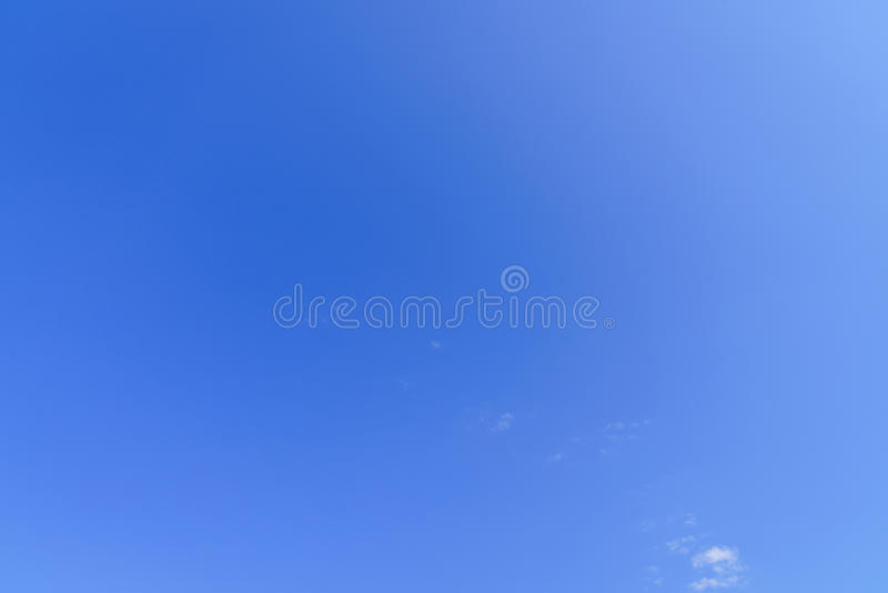 Затыловка голубого неба стоковое фото rf