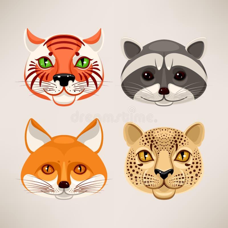 Download Захватнические животные иллюстрация вектора. иллюстрации насчитывающей собрание - 37929386